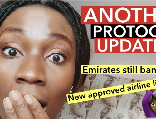 LAGOS International Airport MM NEW Arrival Protocol | NEW APPROVED AIRLINE LIST, EMIRATES BANNED?